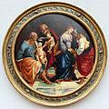 Luca signorelli, sacra famiglia con la famiglia del battista, 1512 ca.JPG