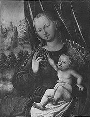 Maria mit Kind und Weintraube (Nachahmer)