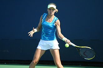 Lucie Šafářová - Šafářová at the 2010 US Open
