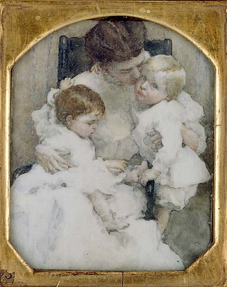 Lucy May Stanton - Image: Lucy May Stanton, Maternité (Mrs. W.T. Forbes and Children), 1908, Museum of Fine Arts, Boston