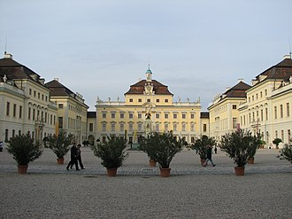 House of Württemberg - Image: Ludwigsburg, November 2006, 42