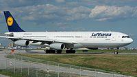 D-AIGS - A340 - Lufthansa