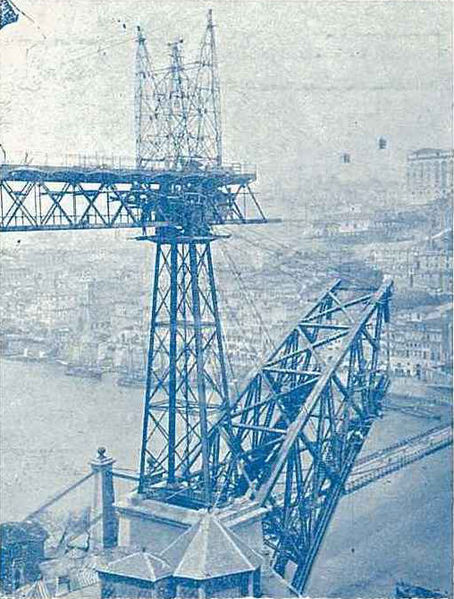 Ficheiro:Luis I bridge under construction (1881).jpg