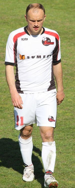 Povilas Lukšys - Lukšys playing for FK Sūduva Marijampolė