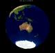 Lunar eclipse from moon-2001Jul05