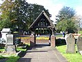Lych Gate, Pelsall Parish Church - geograph.org.uk - 264209.jpg