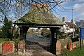 Lych Gate, St Mary's Church, Dodleston - geograph.org.uk - 486142.jpg