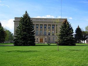Lyon County, Iowa - Image: Lyon County IA Courthouse