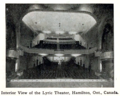 Lyric Theatre, Hamilton, Ontario, Canada in 1916 - MvPW Jan - Interior (12664195813).png