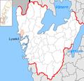 Lysekil Municipality in Västra Götaland County.png