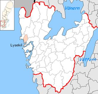 Lysekil Municipality - Image: Lysekil Municipality in Västra Götaland County