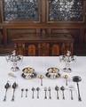Lysningssilver, bestick, m.m. Flera inventarienummer - Hallwylska museet - 73528.tif