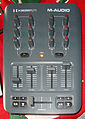 M-Audio X-Session Pro USB MIDI DJ Controller (front view).jpg