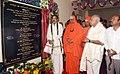 M. Venkaiah Naidu unveiling the plaque to inaugurate the new Building, on the occasion of 103rd Birth Anniversary Celebrations of His Holiness Jagadguru Sri Shivarathri Rajendra Mahaswamiji, in Mysuru, Karnataka.JPG