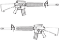M16A2 rifle line drawing.png