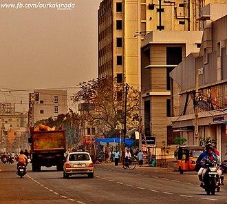 Kakinada - MAIN ROAD KAKINADA CITY