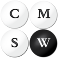 MIT Comparative Media Studies Writing square logo.png