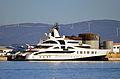 MY Palladium Superyacht berthed at the North Mole, Port of Gibraltar.jpg