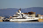 MY Palladium Superyacht berthed at the North Mole, Port of Gibraltar.jpg