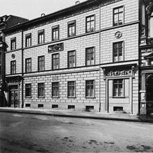 Schadows Wohnhaus (1805–1850) in Berlin-Mitte in der Schadowstraße 10/11, Foto von 1900 (Quelle: Wikimedia)