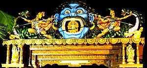Nayagarh - Maa Dakhinakali temple entrance, Nayagarh