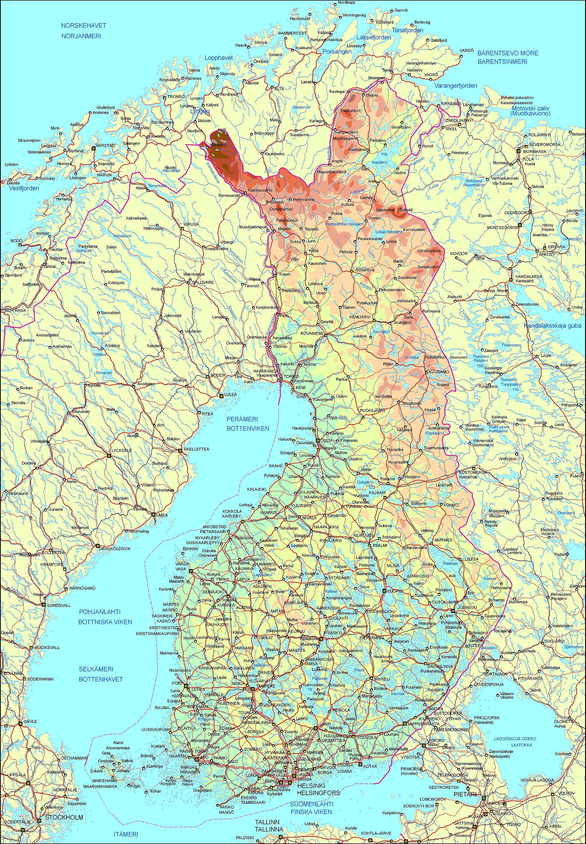 Suomen Lähteet Kartalla