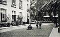Maastricht, Boschstraat, Klooster Arme Kind Jezus, tuin, 1930-35.jpg