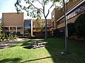 MacRobertson Girls' High School's courtyard.JPG