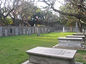 Old Protestant Cemetery (Macau) - A view of the cemetery.