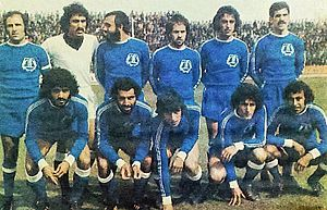 Machine Sazi F.C. - Machine Sazi players in 1976