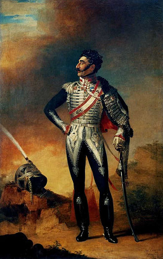 Valerian Madatov - Portrait of General Valerian Madatov by George Dawe