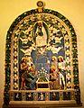 Madonna della Cintola, di Benedetto Buglioni (1510 circa), chiesa di Sant'Elisabetta a Barga.JPG