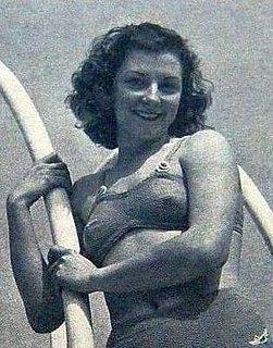 Madeleine Moreau French diver
