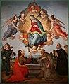 Maestro della conversazione di s. spirito, forse giovanni cianfanini, madonna della cintola, 1510 (calenzano, s.m. a carraia) 03.jpg