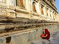 Maha Bodhi Temple Bodh Gaya India - panoramio (10).jpg
