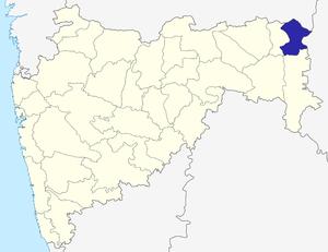 Gondia district - Image: Maharashtra Gondiya