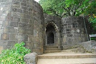 Shivneri Fort in Maharashtra, India