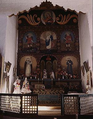 San José de Gracia Church - Image: Main Altar, SJDG