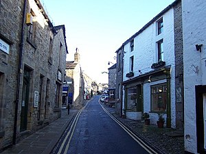 Grassington - Image: Main Street, Grassington