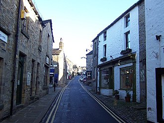 Grassington - Image: Main Street, Grassington