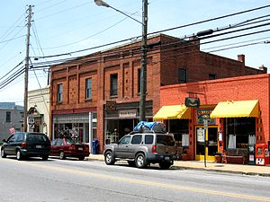 Weaverville, North Carolina - Main Street, Weaverville 2009