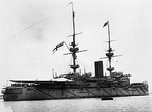 HMS Caesar (1896) - Caesar c. 1905