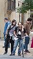 Making-of del cortometraje Macarril bici 51.jpg