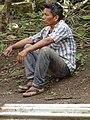 Man at Roadside - Balgue - Ometepe Island - Nicaragua (31712908196).jpg