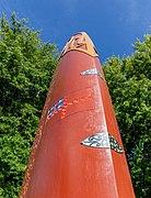 Mana Motuhake (sculpture), Christchurch, New Zealand 08.jpg
