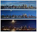 Manhattan, Midtown West, Day into Night (21646455499).jpg