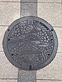 Manhole cover of Osaka, Osaka.jpg