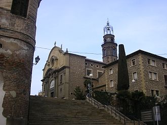 Manlleu - Church of Santa Maria.