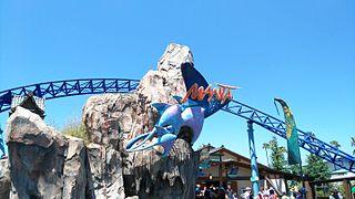 Manta (SeaWorld San Diego) roller coaster