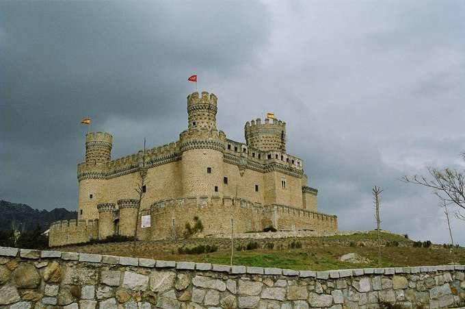 Manzanares el Real-Castillo